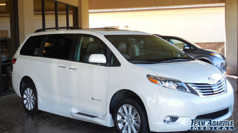 Lucedale, Ms 2015 Toyota Sienna BraunAbility Toyota Rampvan Xiwheelchair van for sale