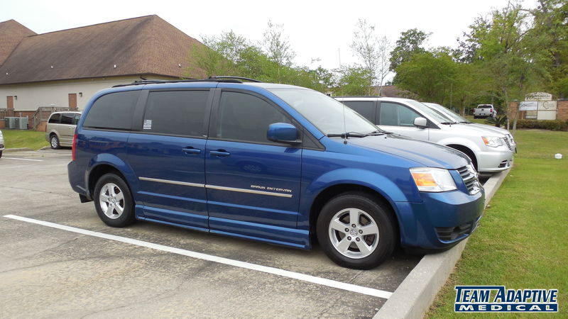 Hattiesburg, Ms 2010 Dodge Grand Caravan BraunAbility Dodge Entervan IIwheelchair van for sale