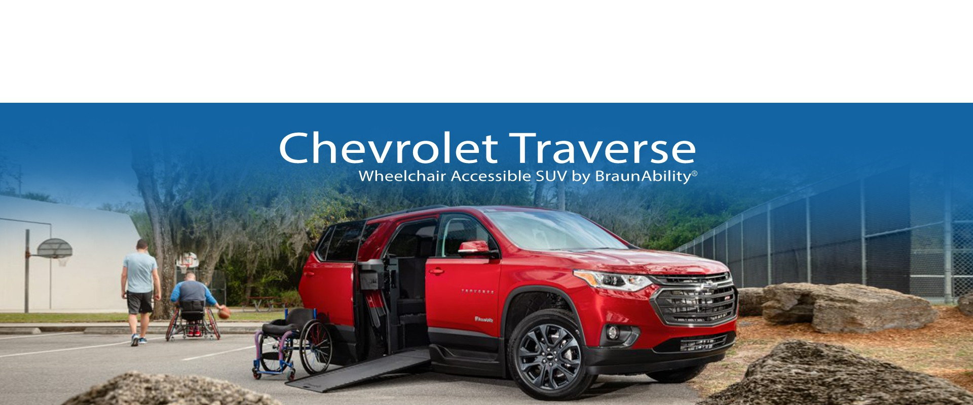 All New Wheelchair Accessible Chevrolet Traverse The Gulf Coast