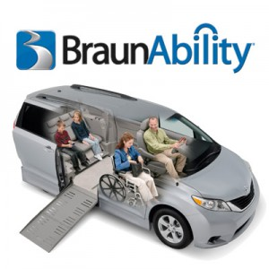 BraunAbility Wheelchair Vans -
